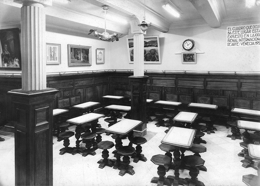 El Bar de La Viña del Ensanche en los años 50